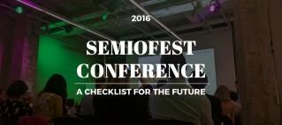 Semiofest Tallinn checklist by Andrius Grigorjevas